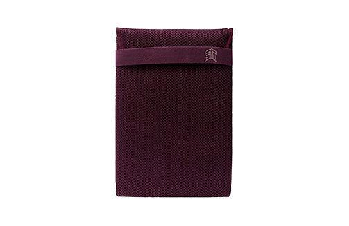 STM Knit Glove Sleeve for 13-Inch Laptop - Plum (stm-114-180M-03)
