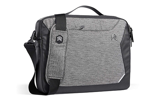 STM Myth Fleece-Lined Brief Case with Removable Strap for 13