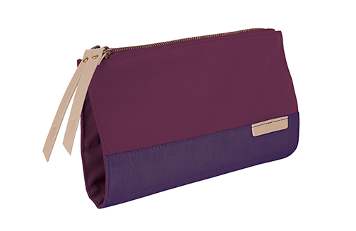 STM Grace, Women's Accessory Clutch for Computer Cords, Drives, Pens and more - Dark Purple (stm-931-105Z-45)